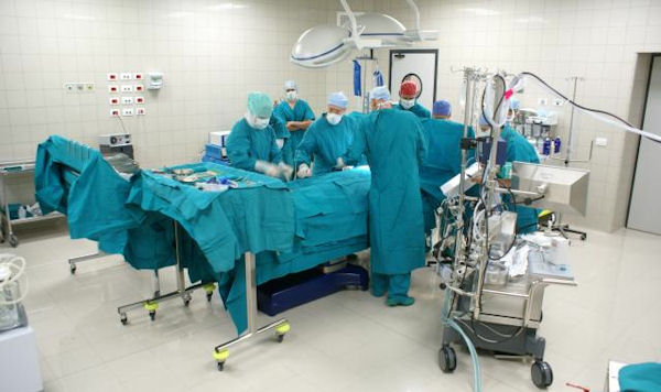 The surgical block of the Salam Centre includes three Operating Teathres